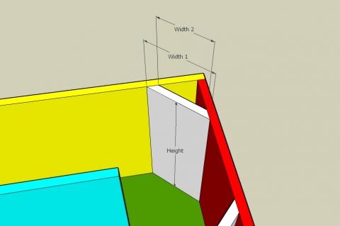 Single Fold Off-Axis Transmission Line - Corner Reflector Plates